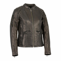 Milwaukee Leather Women's Lightweight Scuba Racer Jacket
