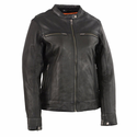 Milwaukee Leather Women's Lightweight Triple Stitch Scooter Jacket
