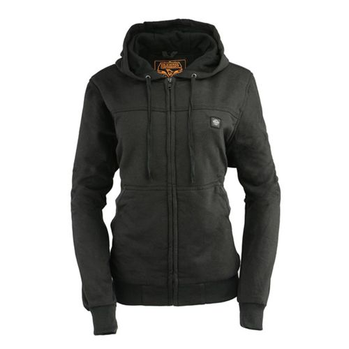 Milwaukee Leather 7.4V Women's Heated Hoodie with Front & Back Heating Elements