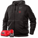 Milwaukee M12 Cordess Heated Hoodie Kit - Black