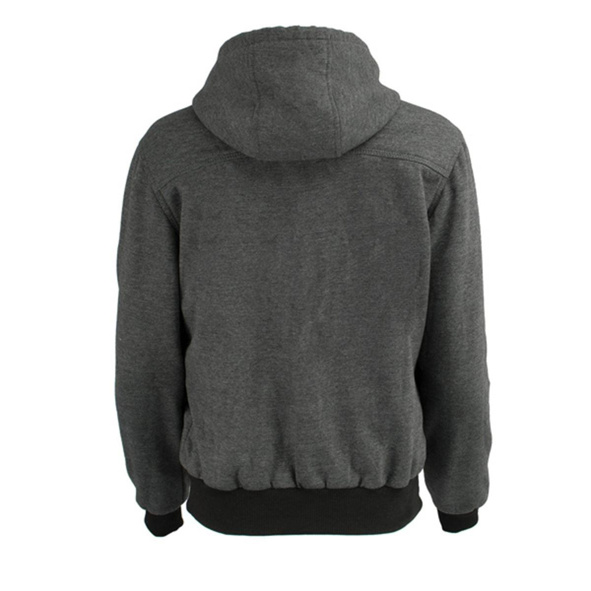 Milwaukee Performance Mens Heated Hoodie with Front and Back Heating Elements Grey, Large