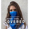 Mission EnduraCool Original Cooling Towel & Face Protection Cover