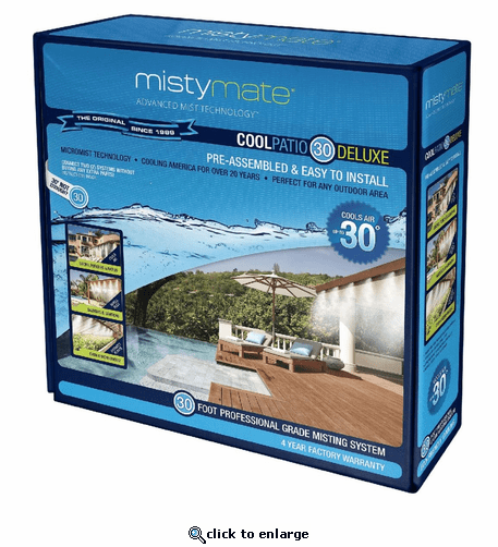Misty Mate Cool Patio 30 Deluxe Misting System The