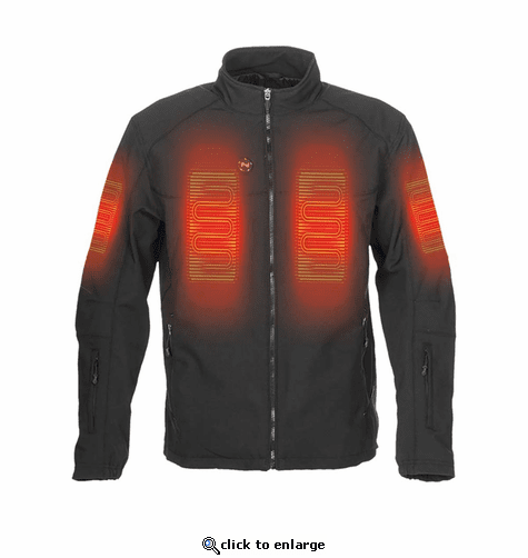 Mobile Warming 12V Men's Dual Power Heated Jacket