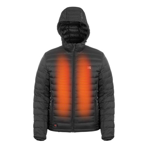Mobile Warming 12V Men's Summit Duck Down Heated Jacket