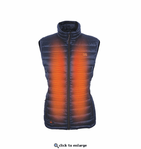 Mobile Warming 12V Women's Endeavor Duck Down Heated Vest