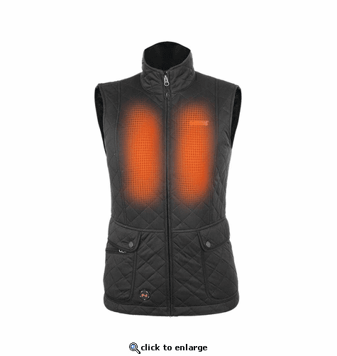 Mobile Warming 7.4V Women's Cascade Heated Vest - 2018 Model