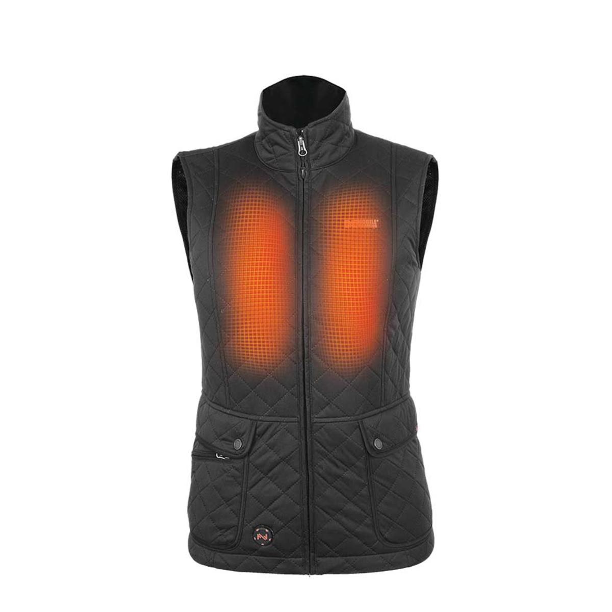 Womens Heated Clothing >> Mobile Warming 7 4v Womens Cascade Heated Vest