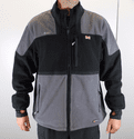 Mobile Warming 7V Battery Heated Fleece Jacket