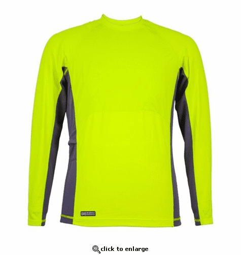 Mobile Warming Battery Heated Base Layer Shirt - Hi-Viz/Crewneck