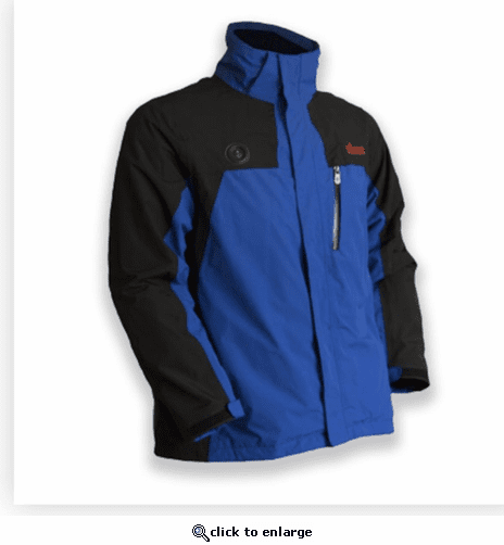 My Core Control Men's Battery Heated Ski Jacket – Blue/Black