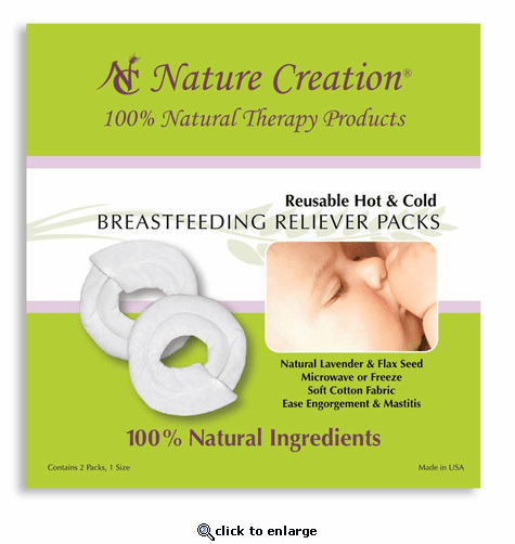 Nature Creation Breastfeeding Reliever Packs