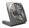 "O2 Cool Treva 10"" Battery Operated Indoor/Outdoor Fan with Adapter"