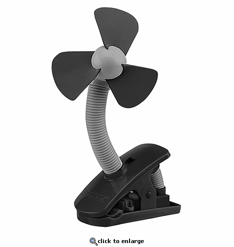 O2 Cool 4 Inch Battery Operated Clip Fan
