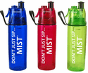 O2 Cool Mist N' Sip Classic Hydration Bottle