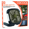 O2 Cool Treva 10-inch Portable Camping Fan with Lights