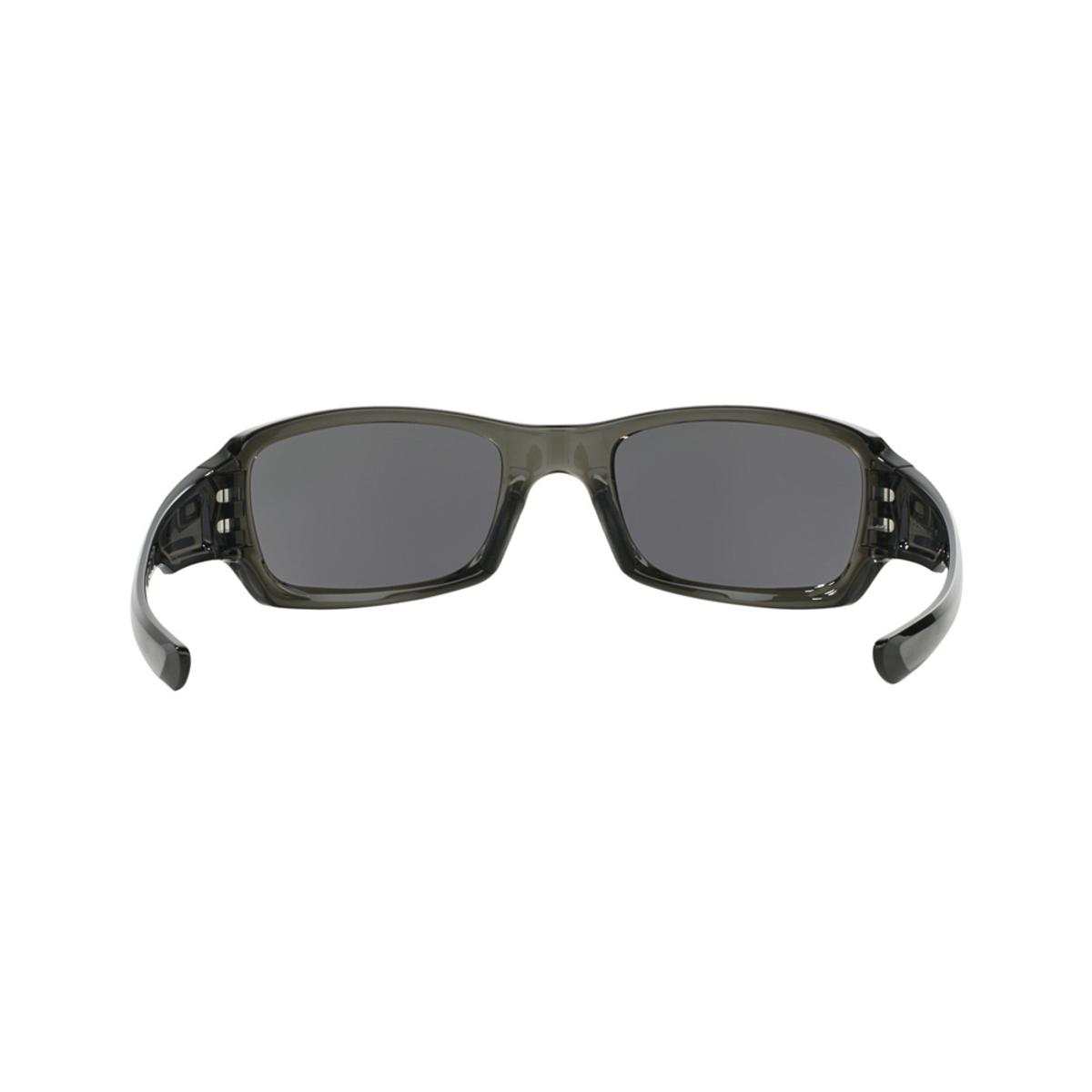 a176061353 Oakley Fives Squared Grey Smoke Sunglasses w Warm Grey - The Warming Store