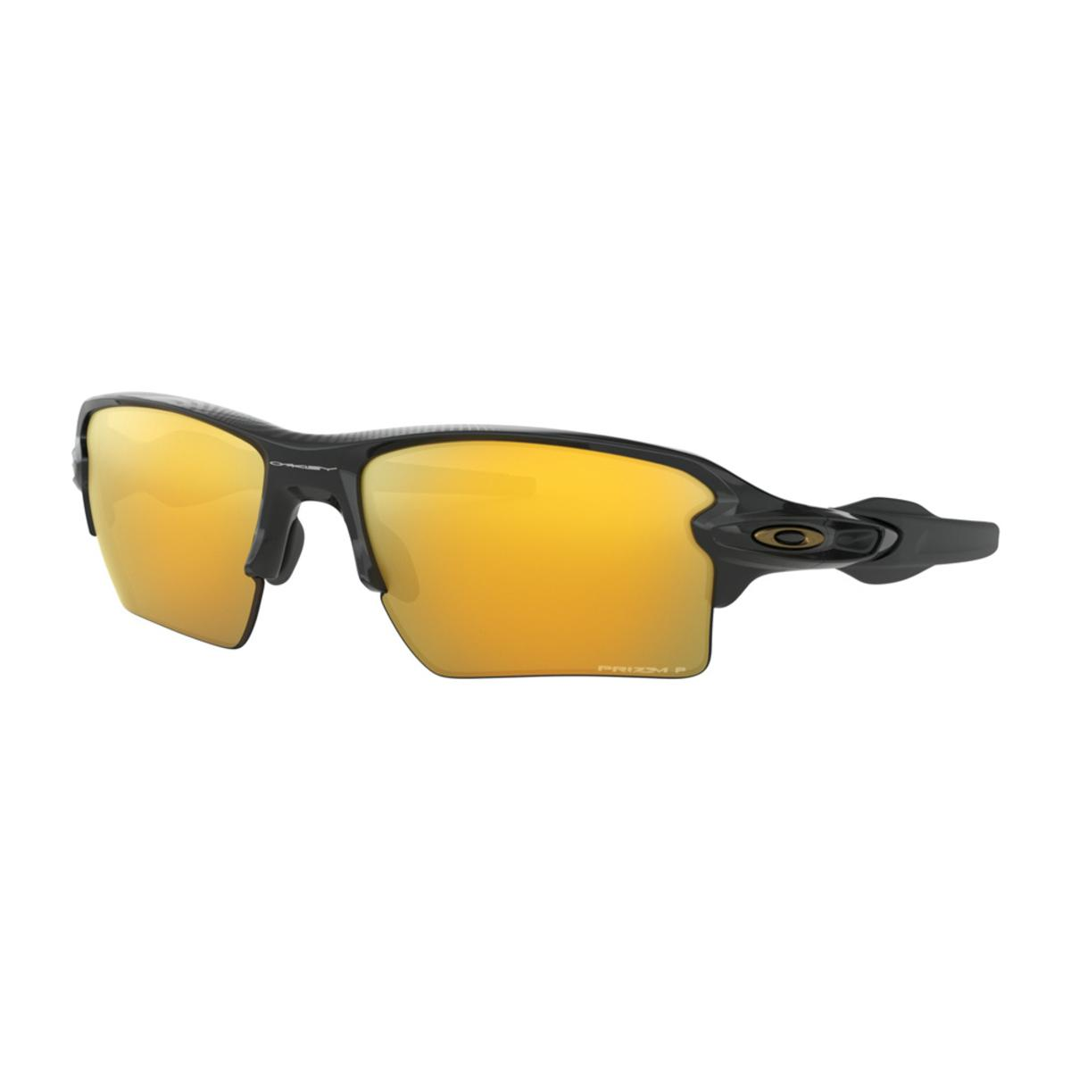 5979ed92b03e4 Oakley Flak 2.0 XL Midnight Collection Polished Black Sunglasses w Prizm  24k Polarized - The Warming Store