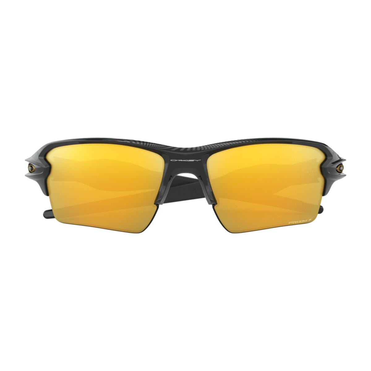 e287f45c5e Oakley Flak 2.0 XL Midnight Collection Polished Black Sunglasses w Prizm 24k  Polarized - The Warming Store
