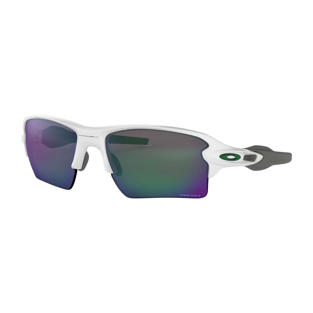 be4d0aa519 Oakley Flak 2.0 XL Team Colors Polished White Sunglasses w Prizm Jade - The  Warming Store