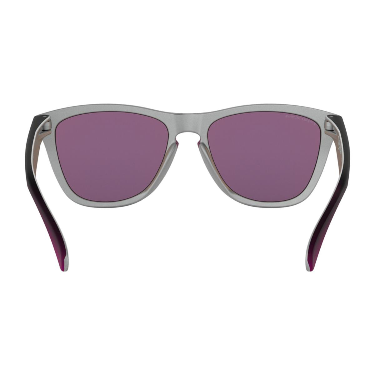 a7467ab613 Oakley Frogskins Splatterfade Collection Black Pink Sunglasses w Prizm  Sapphire - The Warming Store