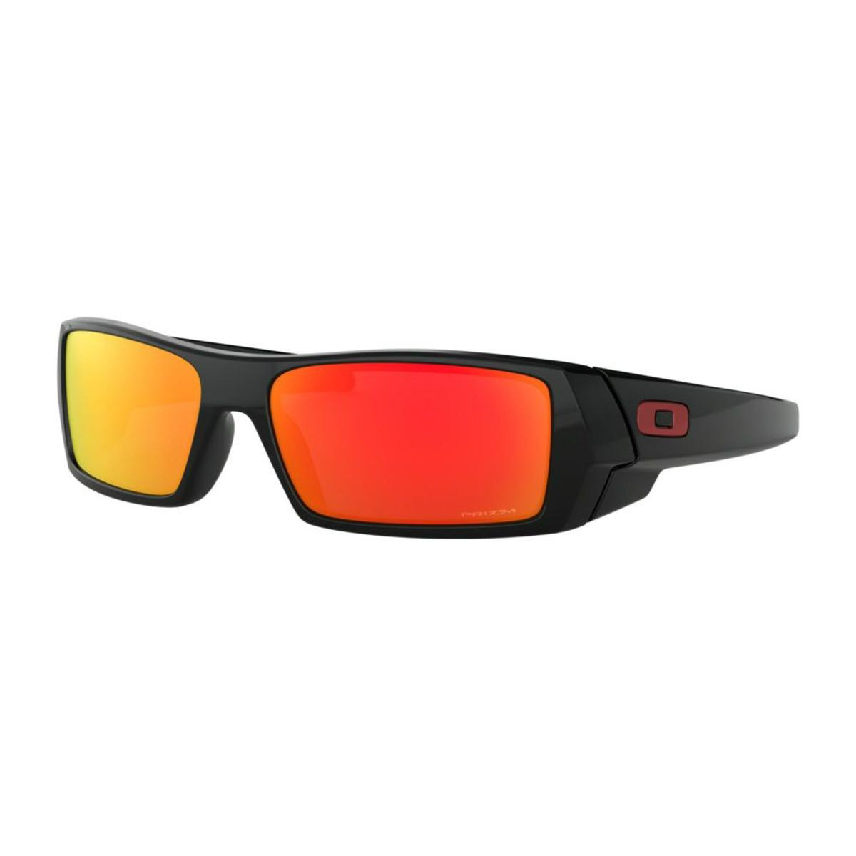 a6988c1a79d3 Oakley GasCan Polished Black Sunglasses w/Prizm Ruby - The Warming Store