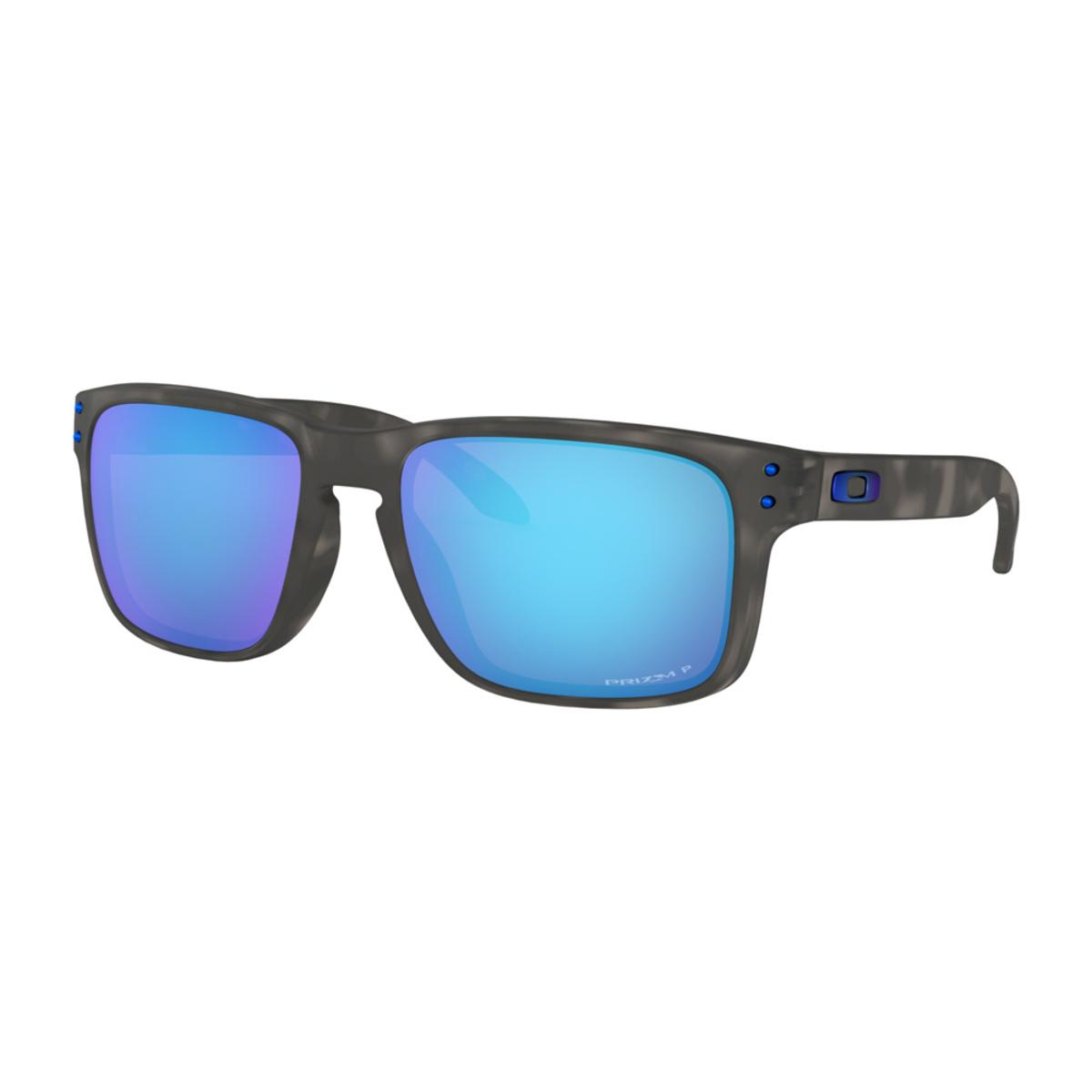 Oakley Holbrook Matte Black Tortoise Sunglasses w Prizm Sapphire Polarized  - The Warming Store 114d4117db