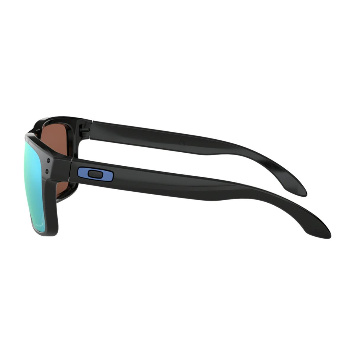 3fd725b018 Oakley Holbrook Polished Black Sunglasses w Prizm Deep Water Polarized -  The Warming Store