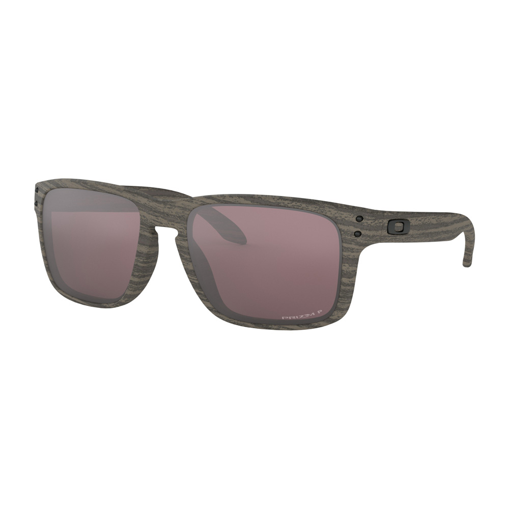 efc5dcfc37b Oakley Holbrook Sunglasses Woodgrain w Prizm Daily Polarized - The Warming  Store
