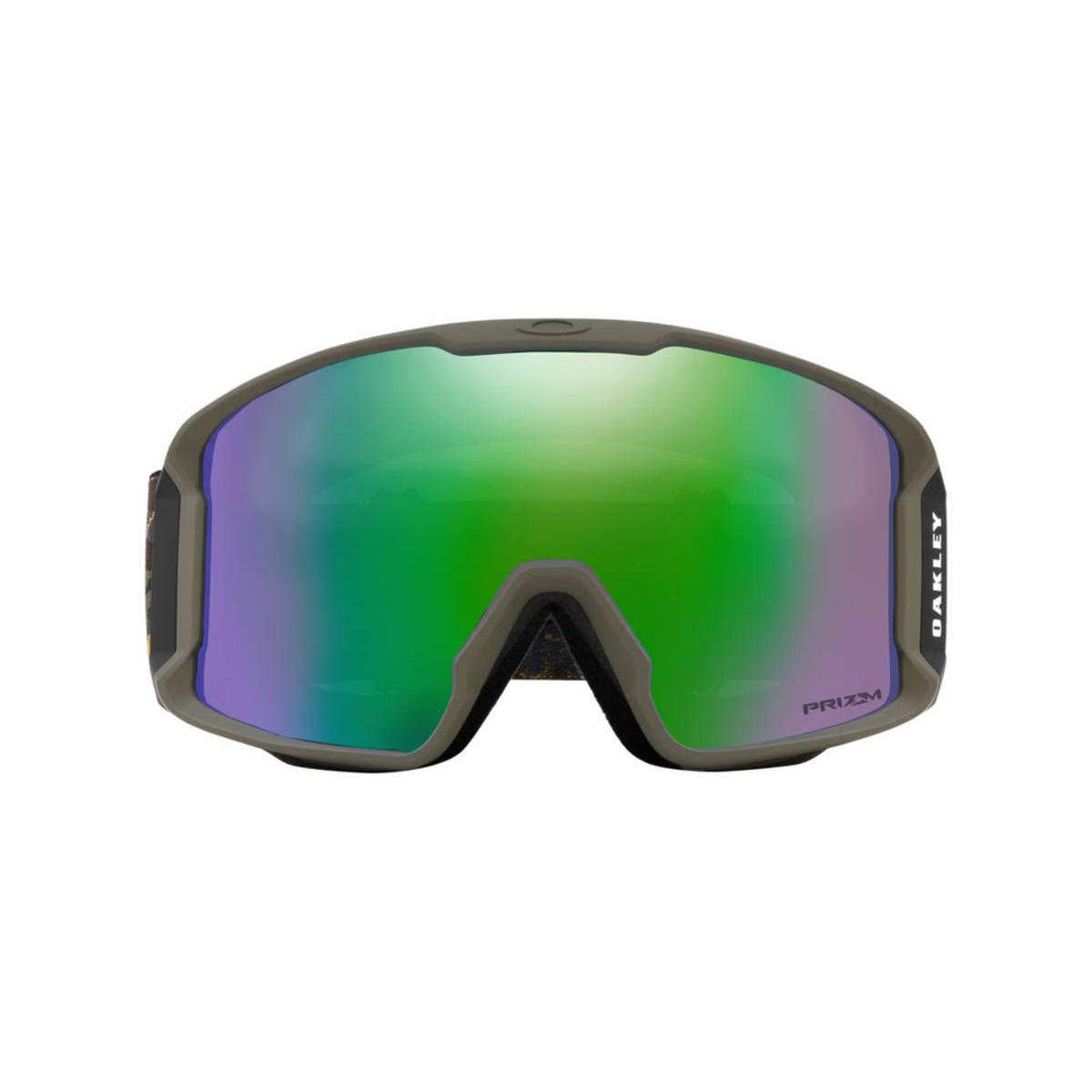 18b46a78e2 Oakley Line Miner Camo Vine Jungle Snow Goggle w Prizm Snow Jade Iridium -  The Warming Store