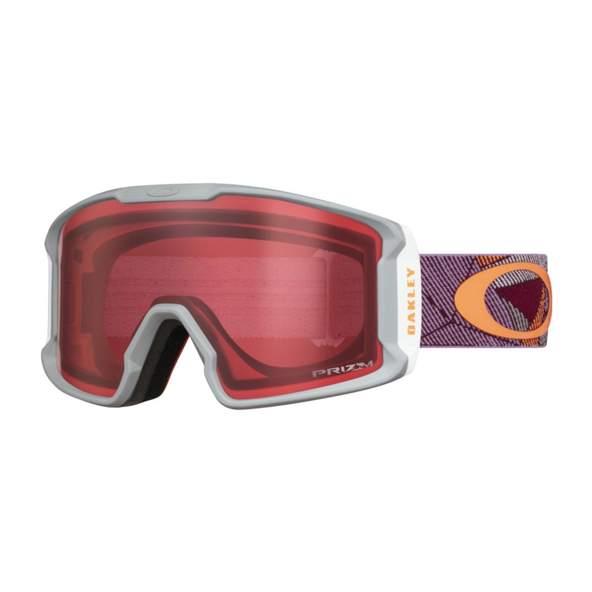 6f8ab9fe45 Oakley Line Miner XM Port Sharkskin Snow Goggle w Prizm Snow Rose - The  Warming Store