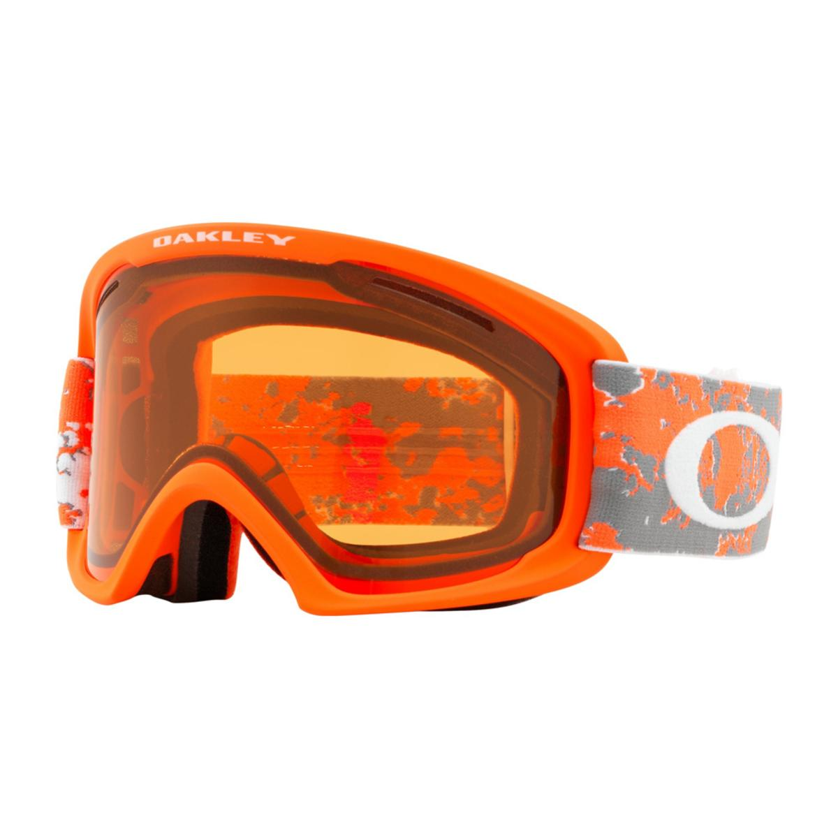 f1ae5e662d Oakley O Frame 2.0 XL Arctic Fracture Orange Snow Goggle w Persimmon - The  Warming Store