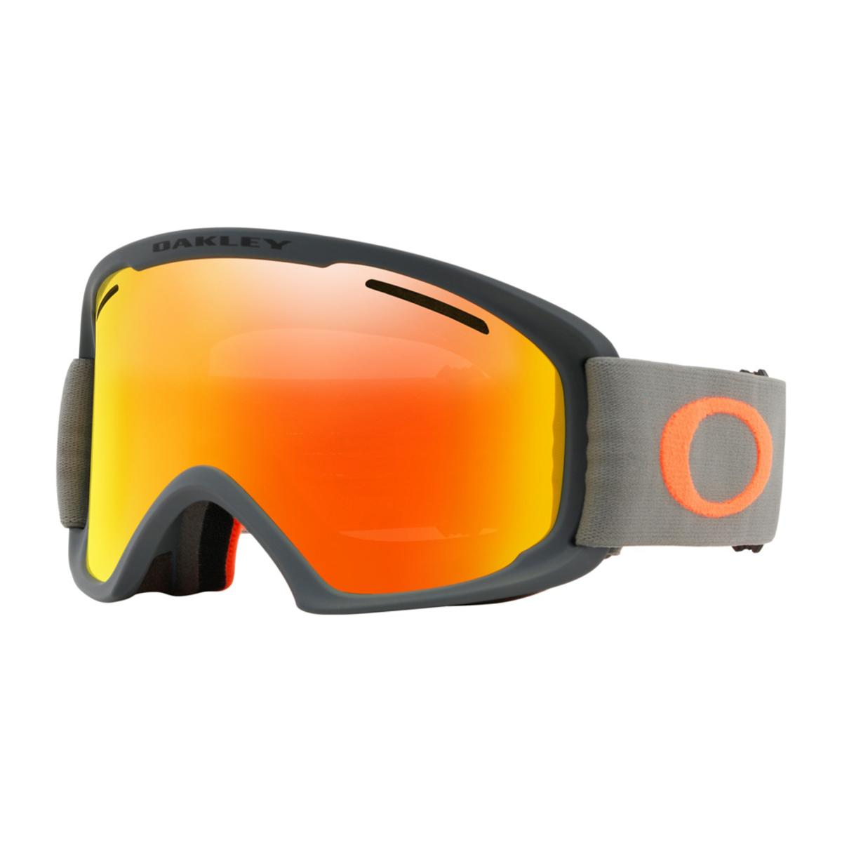 a7600515918 Oakley O Frame 2.0 XL Dark Brush Orange Snow Goggle w Fire Iridium - The  Warming Store