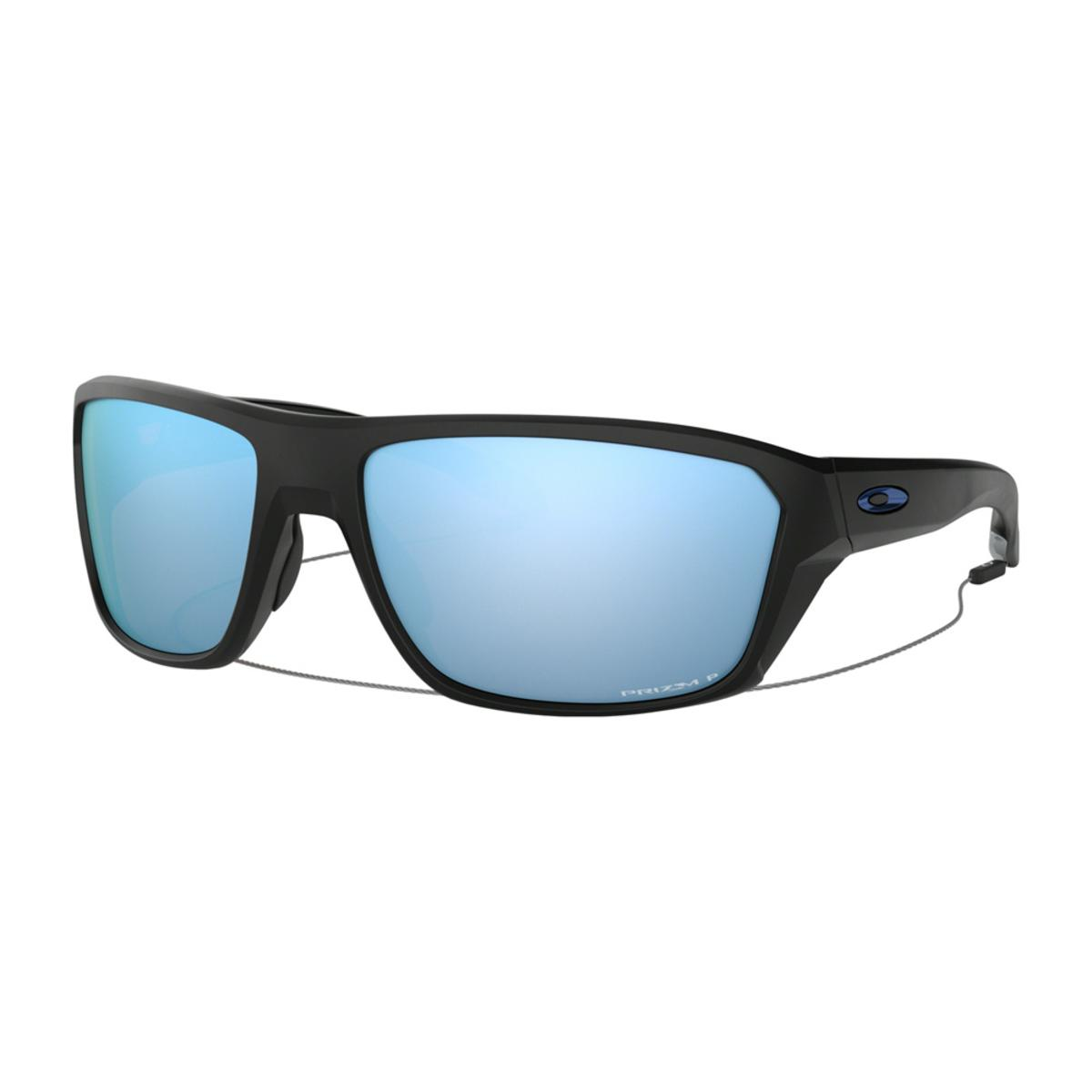 7bdc8d1c407 Oakley Split Shot Matte Black Sunglasses w Prizm Deep Water Polarized - The  Warming Store