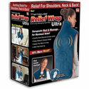 Ontel Thermapulse Relief Wrap Ultra with Extra-Long Massaging Heat Wrap