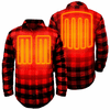 Open Box ActionHeat 5V Battery Heated Flannel Shirt