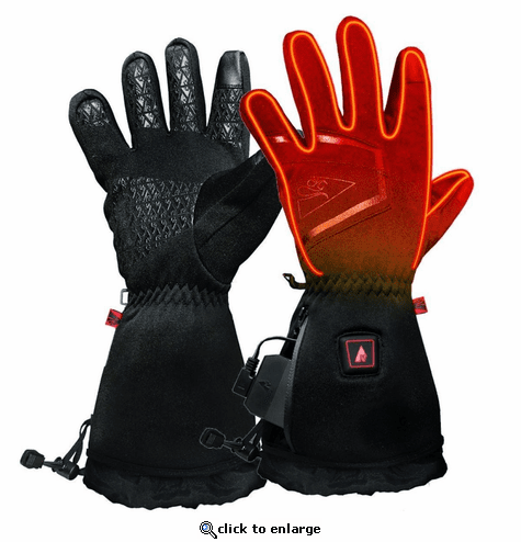 Open Box ActionHeat 5V Plush-Softshell Heated Gloves - Men's