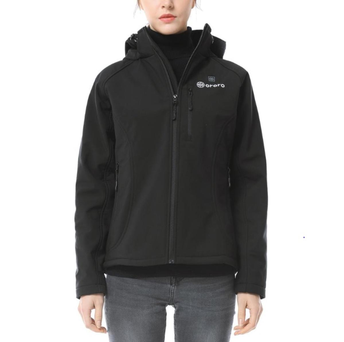 12662980a572 Ororo Battery Heated Women s Heated Jacket - The Warming Store