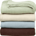 Outlast Temperature Regulating Cotton Blanket - Twin