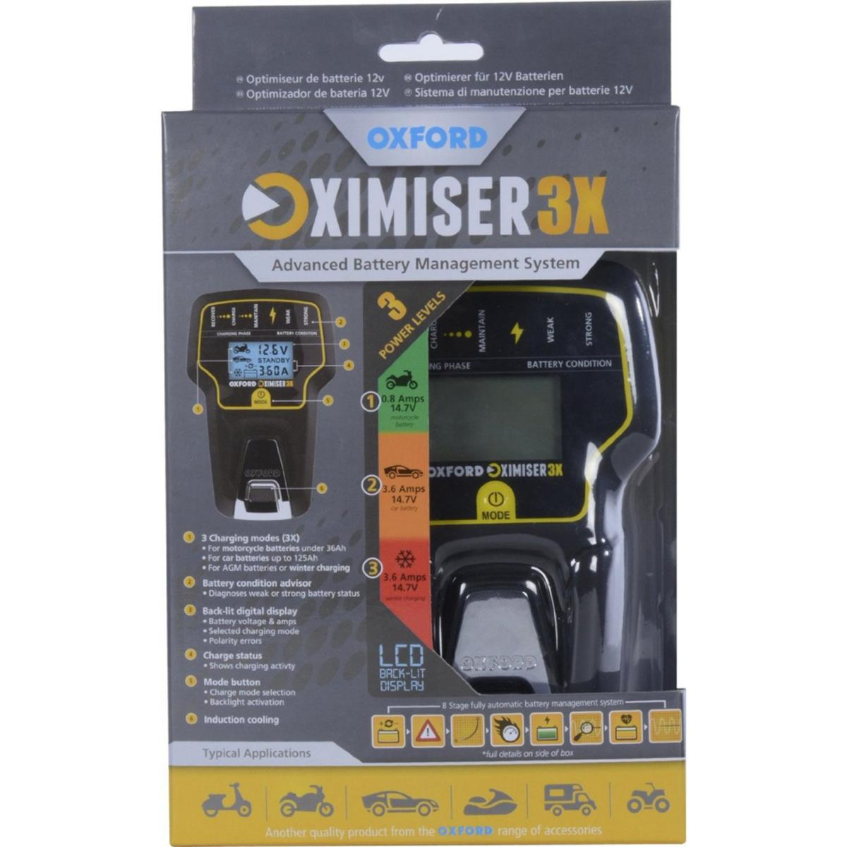 Oxford Oximiser 3X Essential Battery Management System