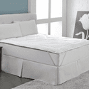 Perfect Fit Cool Wool Reversible Mattress Topper - Queen