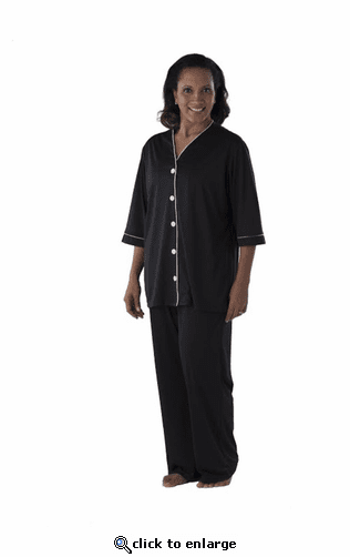 Performance Sleepwear Wicking Women's Collarless Pajama Top
