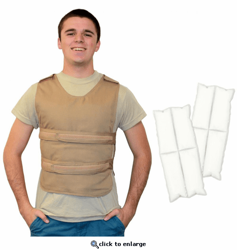 Polar Products Cool58 400 Gram Phase Change Poncho Cooling Vest - One Size Fits Most