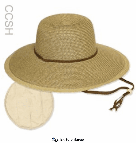 Polar Products Evaporative Cooling Straw Hat