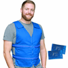 Polar Products Kool Max Adjustable Front Zipper Cooling Vest for Size S/M