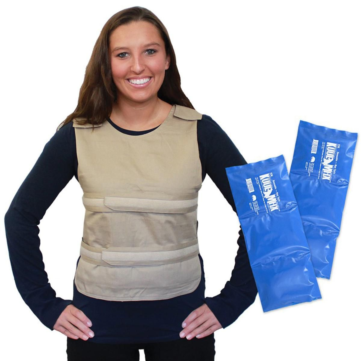 875d51717 Polar Products Kool Max Adjustable Poncho Cooling Vest - One Size Fits Most  - The Warming Store