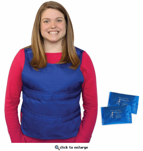 Polar Products Kool Max Poncho Cooling Vest - One Size Fits Most