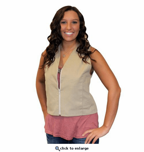 Polar Products Kool Max Women's Fashion Cooling Vest for Sizes XS, S, M, L, & XL