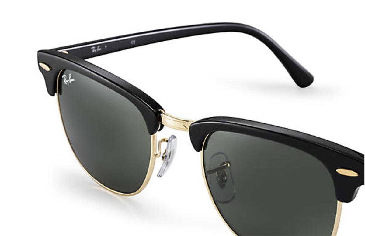 48bb908fbe Ray-Ban Clubmaster Classic Sunglasses with Black   Tortoise Frame Green  Classic G-15 Lens - The Warming Store