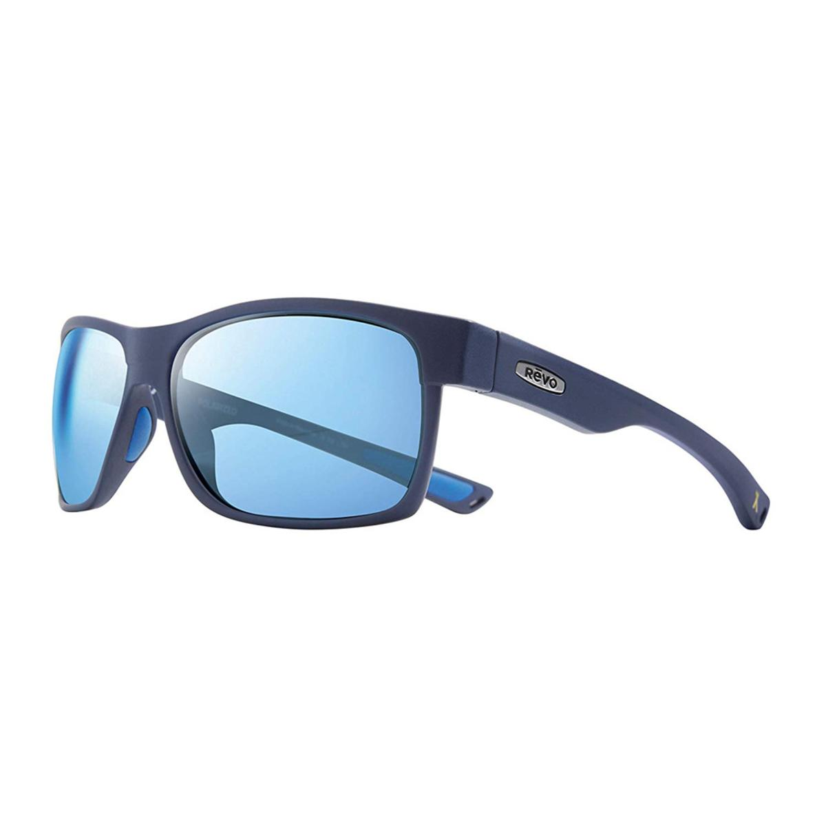 cda55380a Revo Men's Espen Rectangle Sunglasses Blue Water Lens with Blue Frame - The  Warming Store